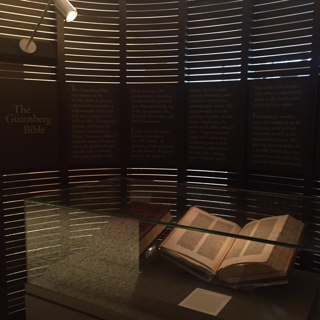 Gutenburg bible